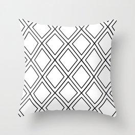 ᚖ NOIR SERIES ᚖ  - Ethnic Chic Pattern Throw Pillow