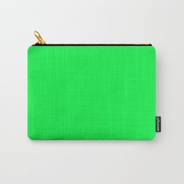 Malachite Green Color Carry-All Pouch