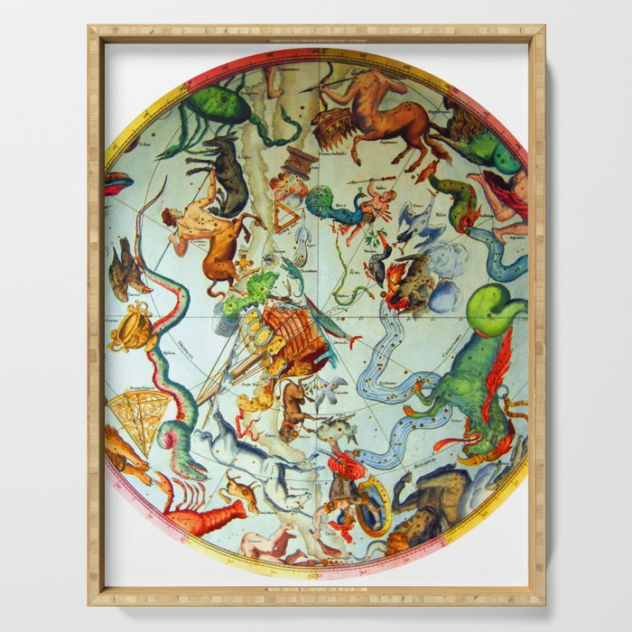 Zodiacs of the Southern Hemisphere Serving Tray