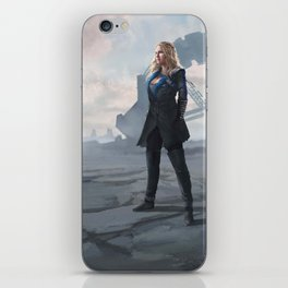 To War: Clarke Griffin iPhone Skin