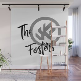"""The Fosters Band Shirt - """"The Ultimate Wingman"""" Klance Fic (Gray Logo) Wall Mural"""