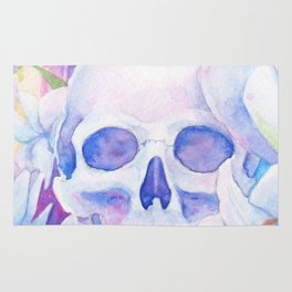 Angel or Devil - Dove, Lily, Skull Rug