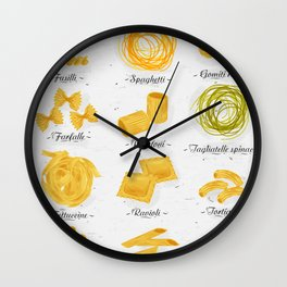 Pasta vintage Wall Clock
