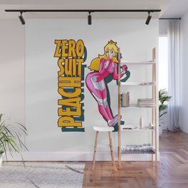 Zero Suit Peach Wall Mural