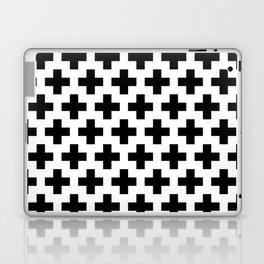 Swiss Cross B&W Laptop & iPad Skin