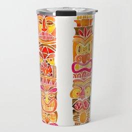 Tiki Totems – Fiery Palette Travel Mug
