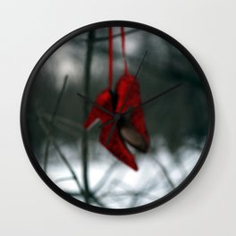 Ruby Red Slippers ~There's  No Place Like Home Wall Clock