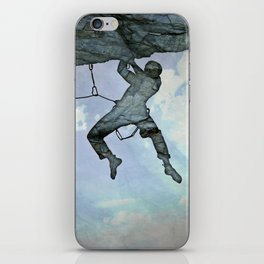 Climb On iPhone Skin