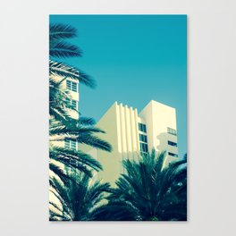 Art Deco Miami Beach #25 Canvas Print