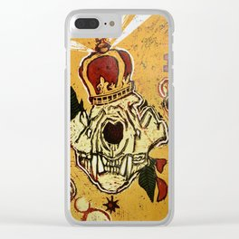Starved-Nation Clear iPhone Case