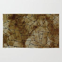 Abstract overlays Rug