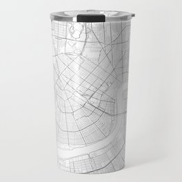 New Orleans, United States Minimalist Map Travel Mug