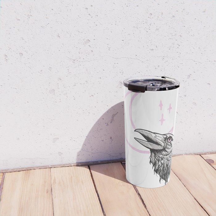 Muninn (Night Crow) Travel Mug