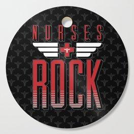 Nurses ROCK Cutting Board
