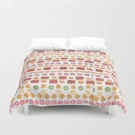 Cereal Surreal Poster Print Duvet Cover