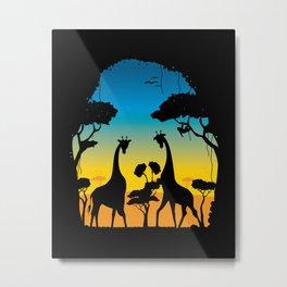 Pandaria Metal Print