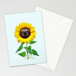 Slothflower Stationery Cards