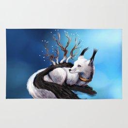 Arctic Fox Rug