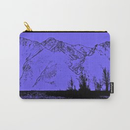 Knik River Mts. Pop Art - 1 Carry-All Pouch