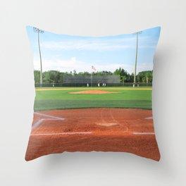 Play Ball! - Home Plate Throw Pillow