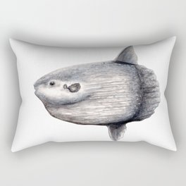 Ocean Sunfish (Mola mola) Rectangular Pillow