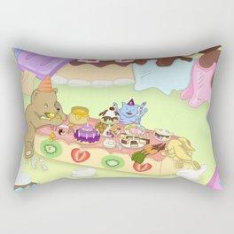Candy Birthday Party Rectangular Pillow