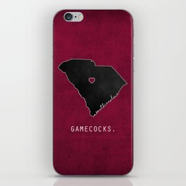 Gamecocks iPhone Skin