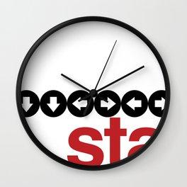 Konami Code Wall Clock