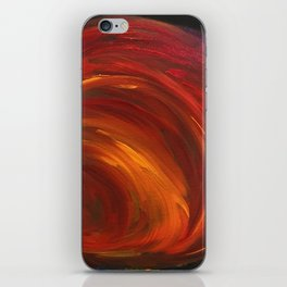"""Mainly Red"" iPhone Skin"