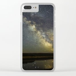 Magnificent Milky Way Clear iPhone Case