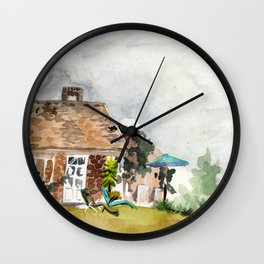 it's about to rain Wall Clock
