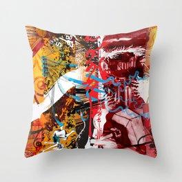 Exquisite Corpse: Round 5 Throw Pillow