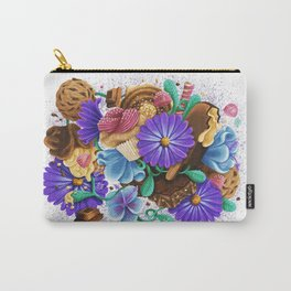 CANDY & FLOWERS Carry-All Pouch