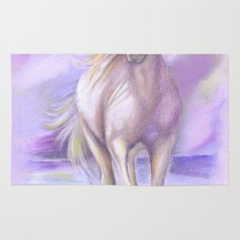 Dream Horse - Horse Painting Rug