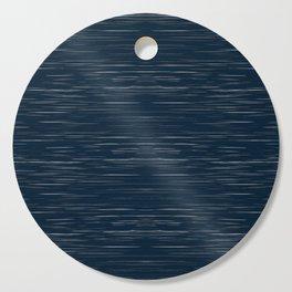 Meteor Stripes - Dark Denim Cutting Board