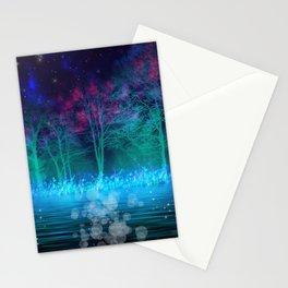 """Mystical Night"" Stationery Cards"