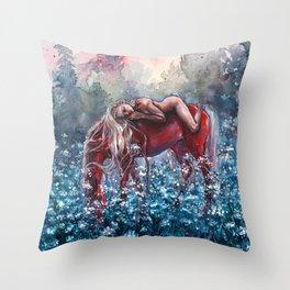 Epona Throw Pillow