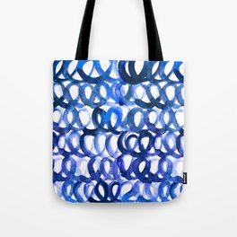 Breaking the waves Tote Bag