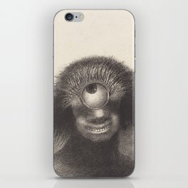 Odilon Redon Cyclops Illustration iPhone Skin