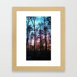 set sol Framed Art Print