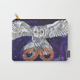 Owl & Snake Carry-All Pouch