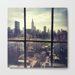 i love NY Metal Print