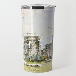 Stonehenge, England Travel Mug