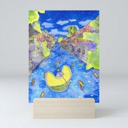 Moonboat Mini Art Print