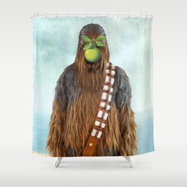 Chewbacca in The Son of A Man Shower Curtain
