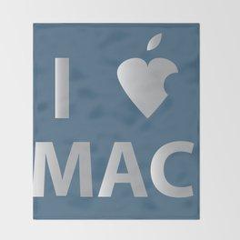 I heart Mac Throw Blanket