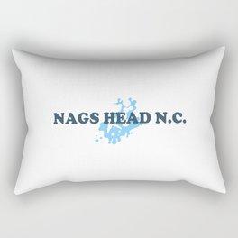 Nags Head - North Carolina. Rectangular Pillow