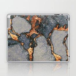 GEMSTONE GREY & GOLD Laptop & iPad Skin