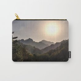 Sunset at Seoraksan Carry-All Pouch