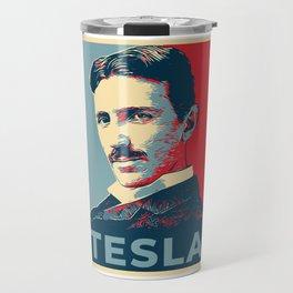 Tesla poster Travel Mug